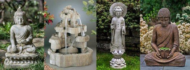 zen nature fountains